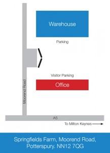 Abby Logistics Warehouse Map
